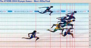 THEATHENS2004OLYMPICGAMESMENS100MFINAL